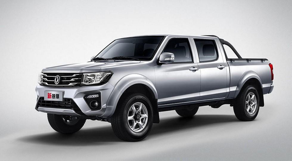 Dongfeng Rich на базе старого Nissan: рестайлинг принес пикапу другой дизель