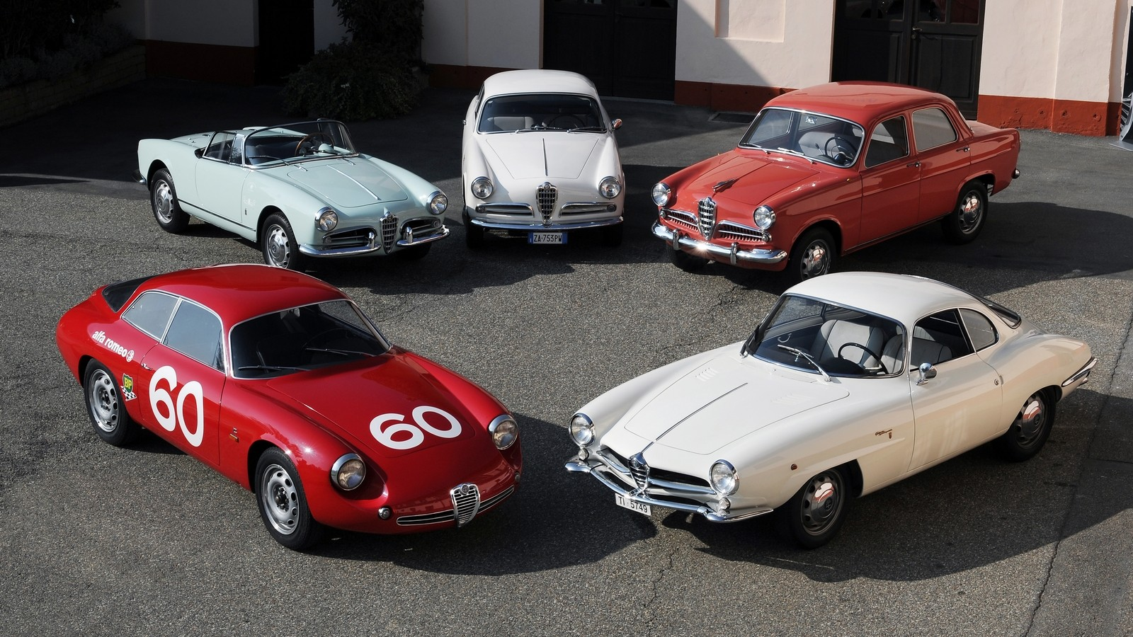 На фото: Alfa Romeo Giulietta 1954–64