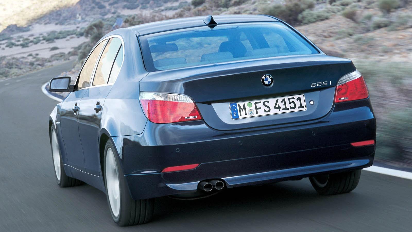 BMW 530i Sedan (E60) '2003–07