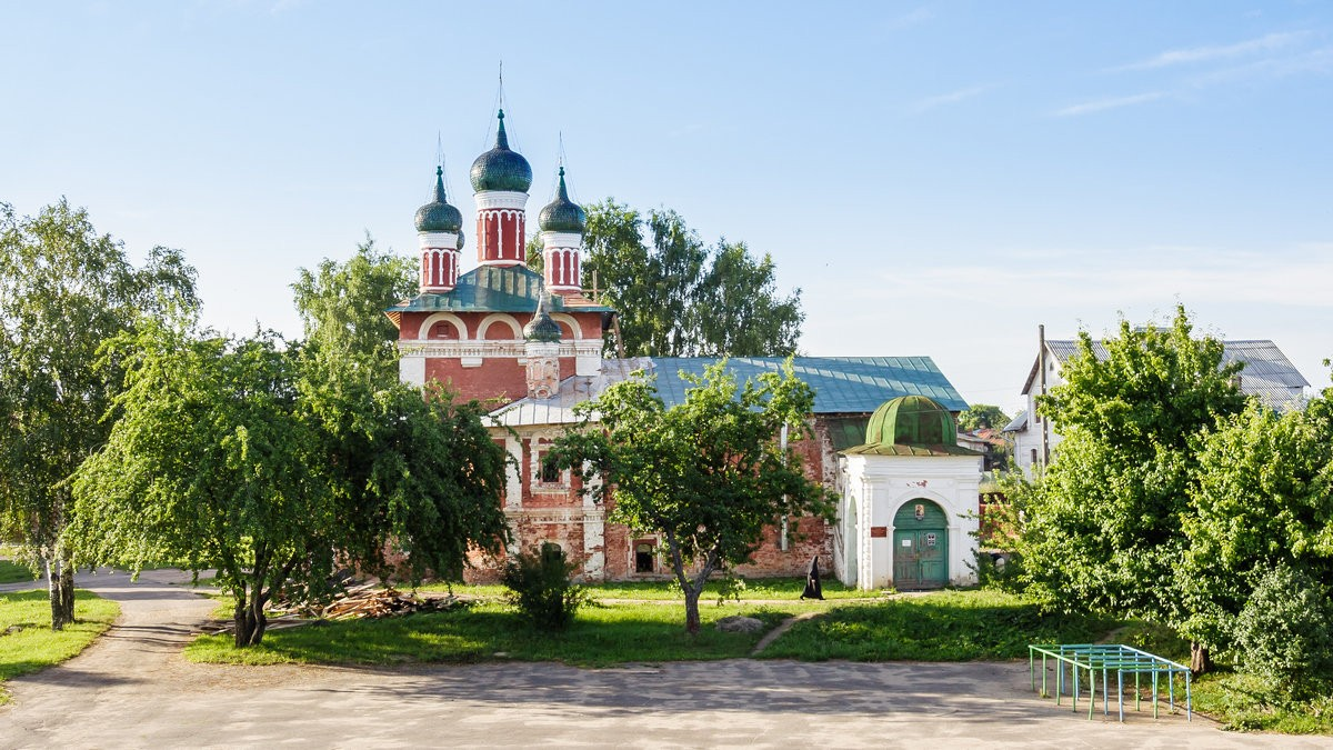 Church of the Icon of the Mother of God of Smolensk in the Epiphany Monastery of Uglich, Yaroslavl Region