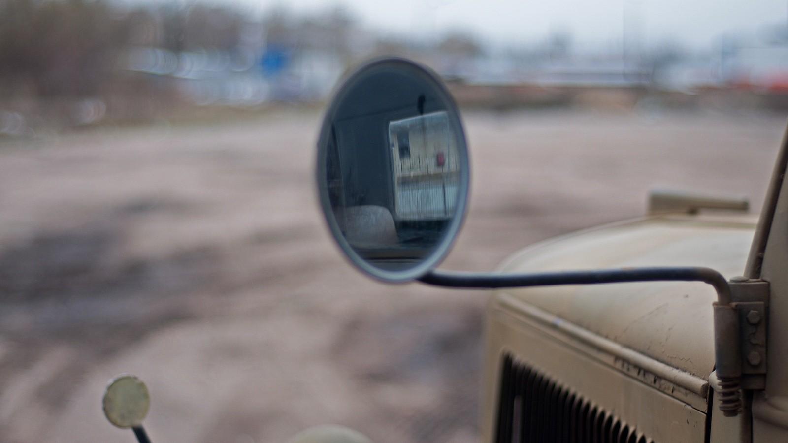 Opel Blitz зеркало бокового вида