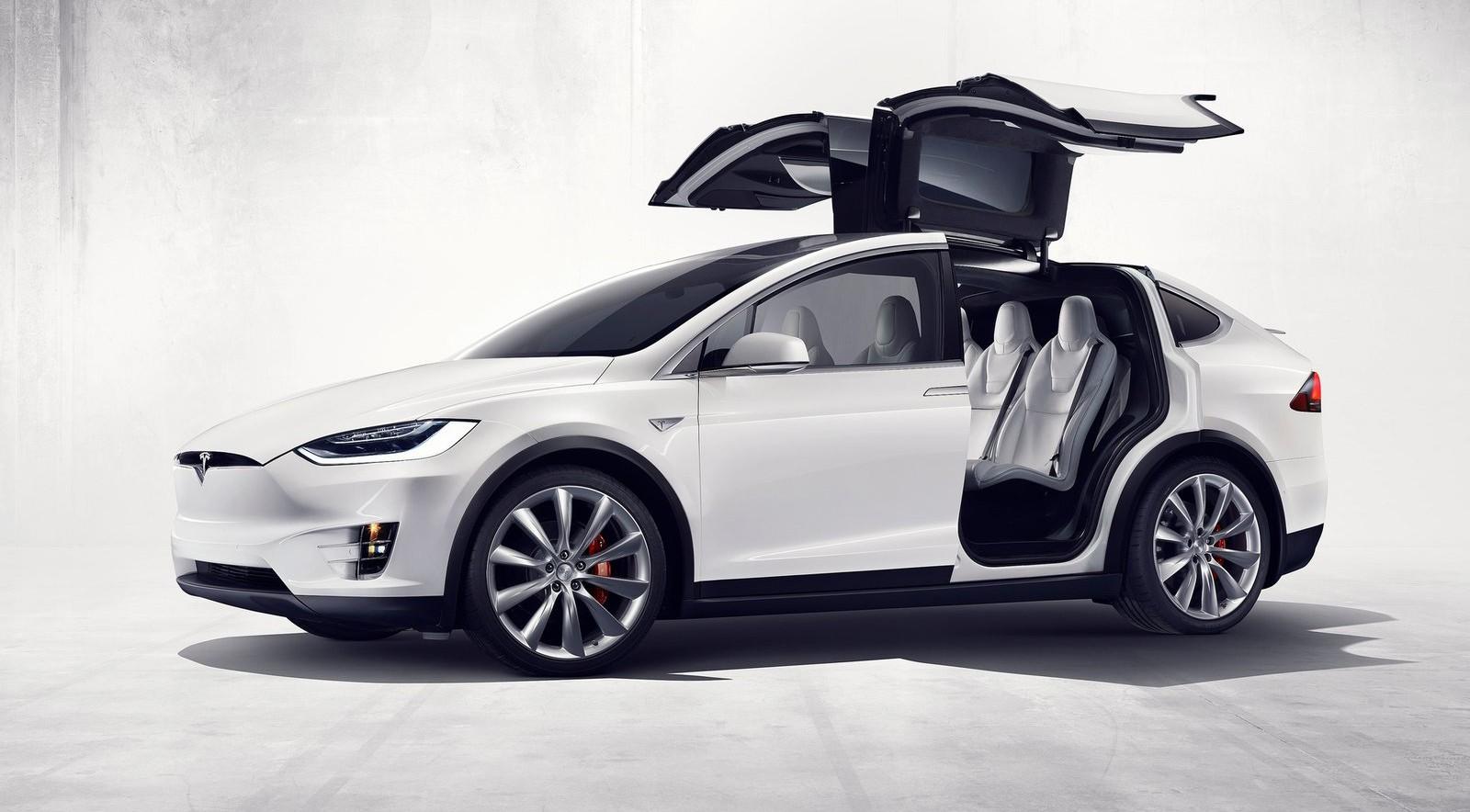 На фото: Tesla Model X