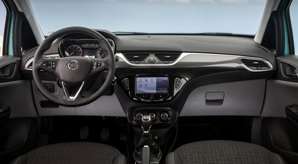 Opel Corsa актуального поколения