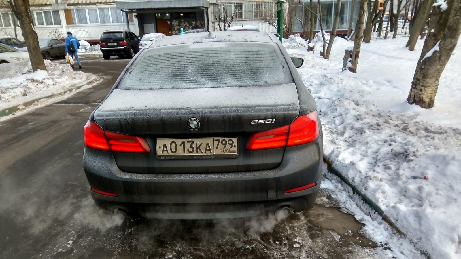 BMW 520i Яндекс Драйв