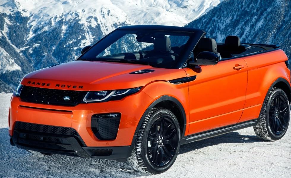Range Rover Evoque HSE Convertible