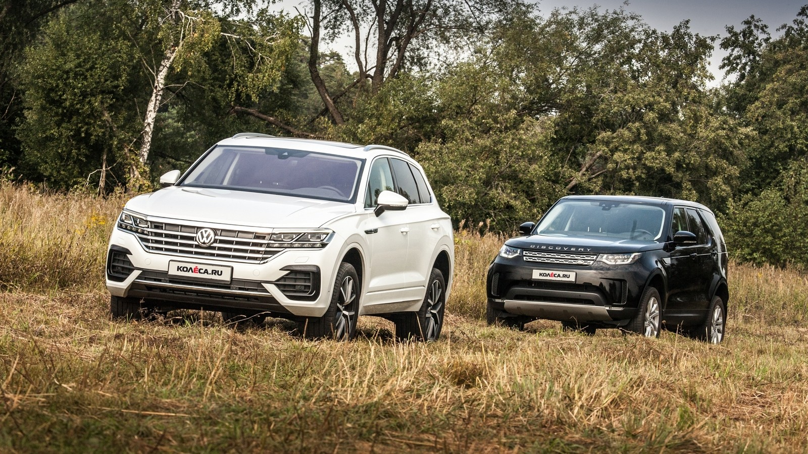 Volkswagen Touareg Land Rover Discovery (5)