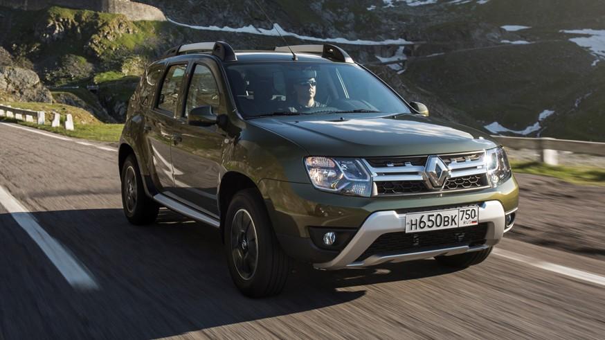На фото: Renault Duster для российского рынка