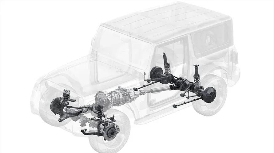 Mahindra продолжает дразнить Jeep: представлен внедорожник Thar нового поколения