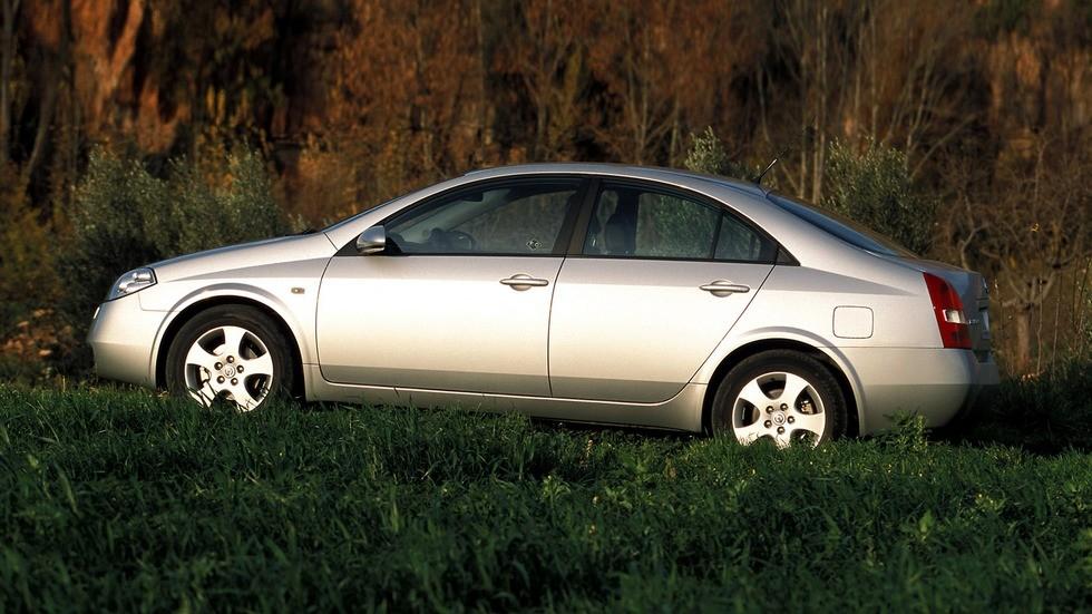 Nissan Primera Sedan (P12) '2002–08