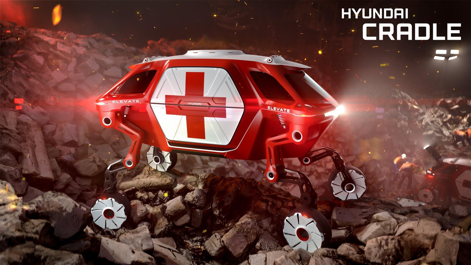 Hyundai запустит шагающий автомобиль в серию. Конец традиционным внедорожникам?