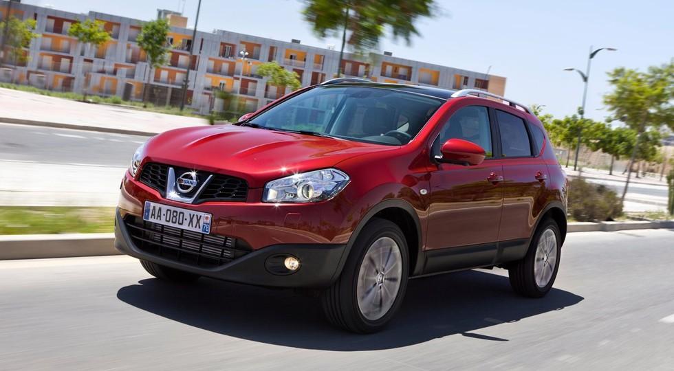 На фото: Nissan Qashqai`2012-14