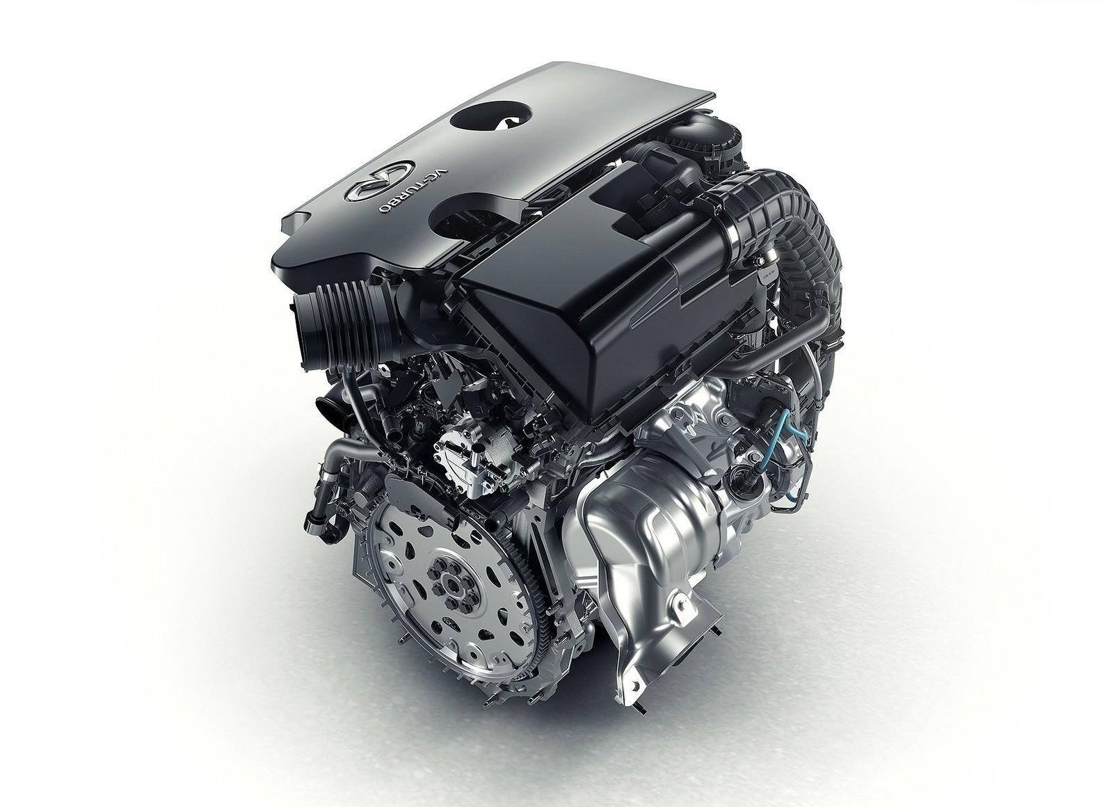 На фото: новый мотор Infiniti