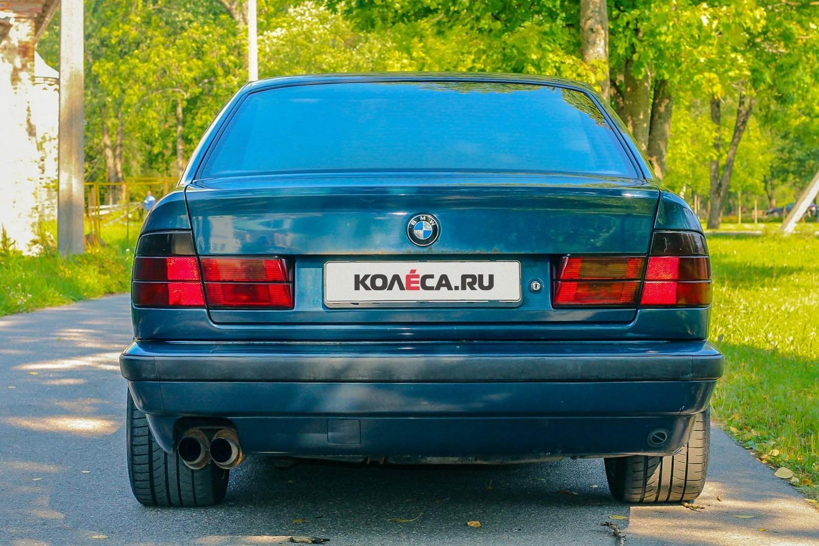 BMW-5-серии-E34-сзади-(4)