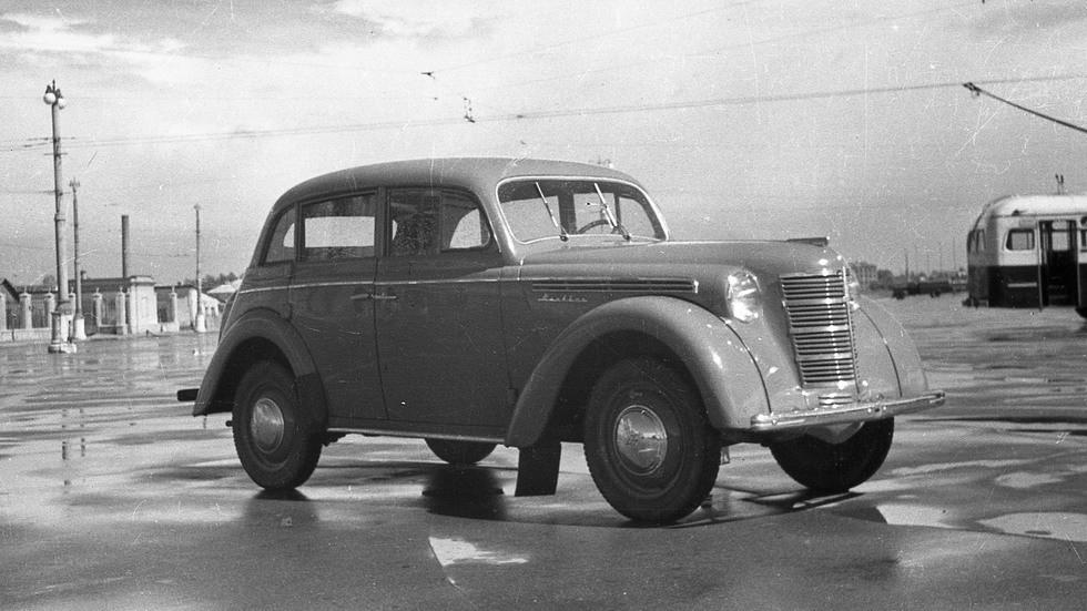 Москвич-400-420 и Москвич-401-420 внешне не отличались