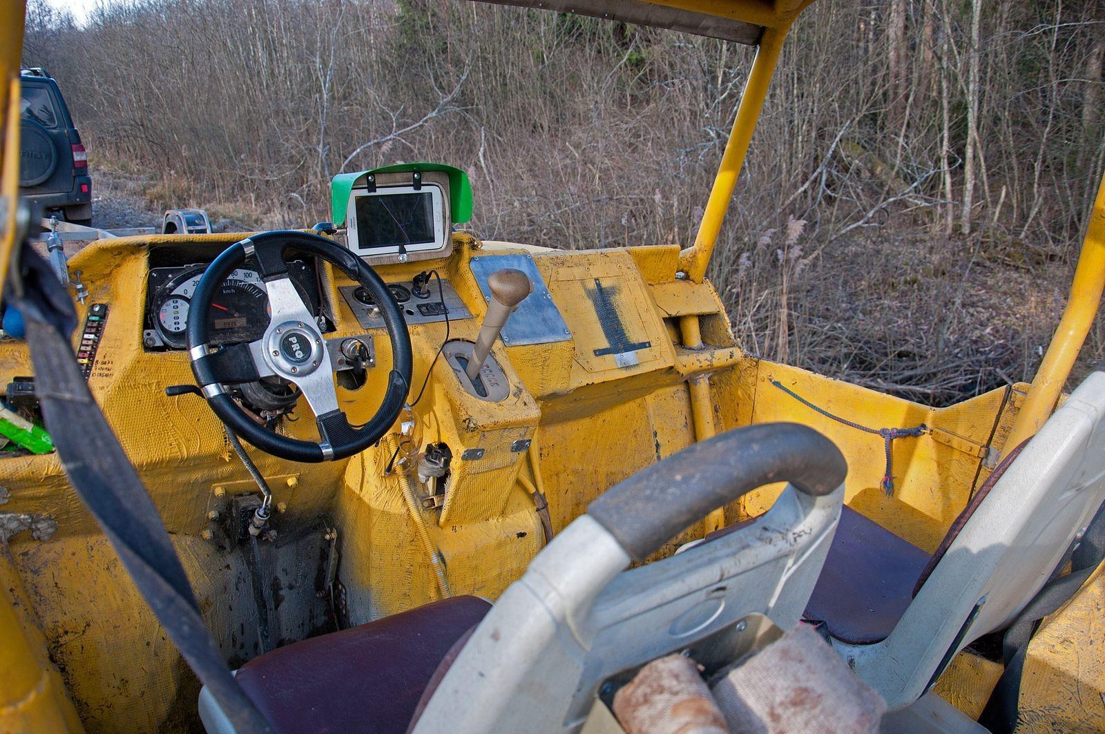 Убей меня нежно: тест-драйв вездехода «Жёлтая Цыпа» с мостами Toyota Mark II