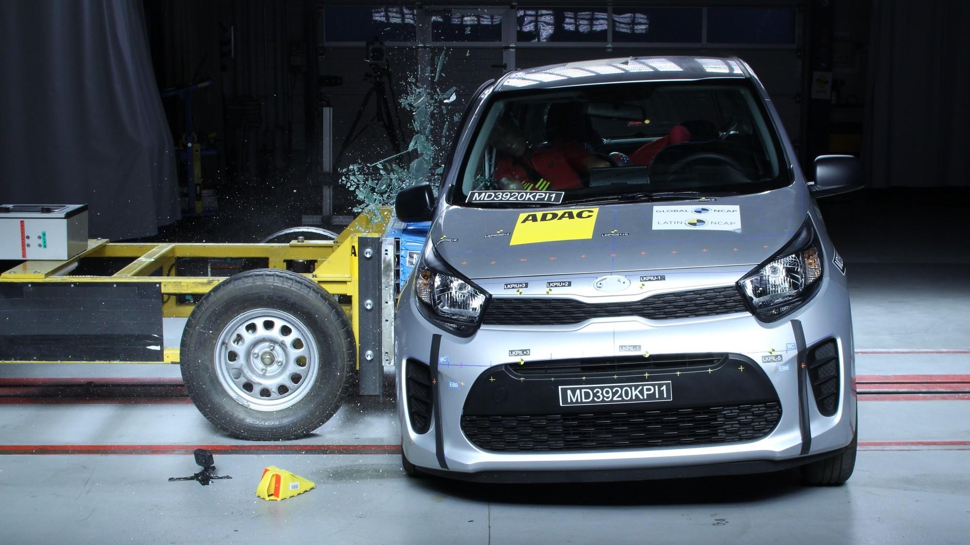 Latin NCAP опять ругает «корейцев»: Kia Picanto провалил все краш-тесты