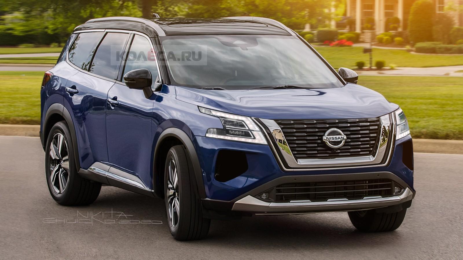 Новый Nissan Pathfinder: первые изображения