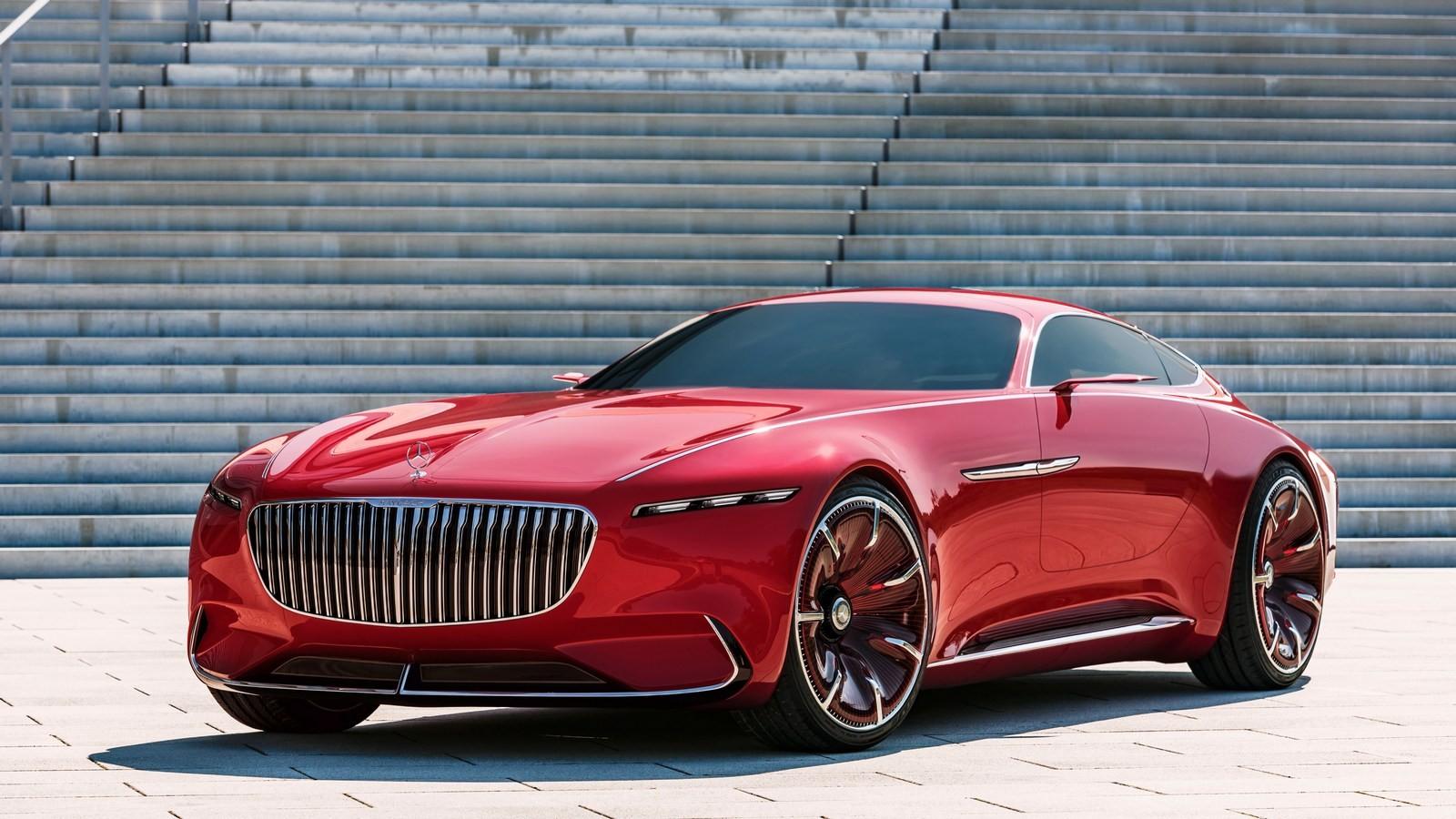 Концепт Maybach 6 Coupe