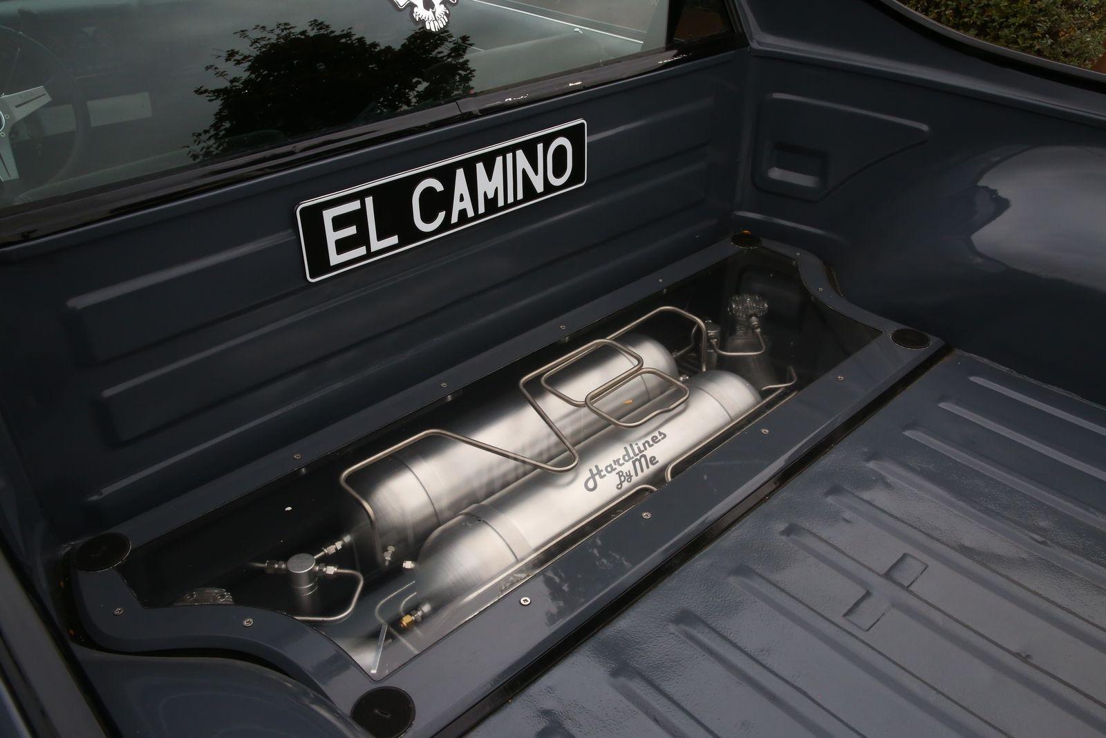 Пневма, кожа и новый (!) мотор: опыт владения Chevrolet El Camino 1974