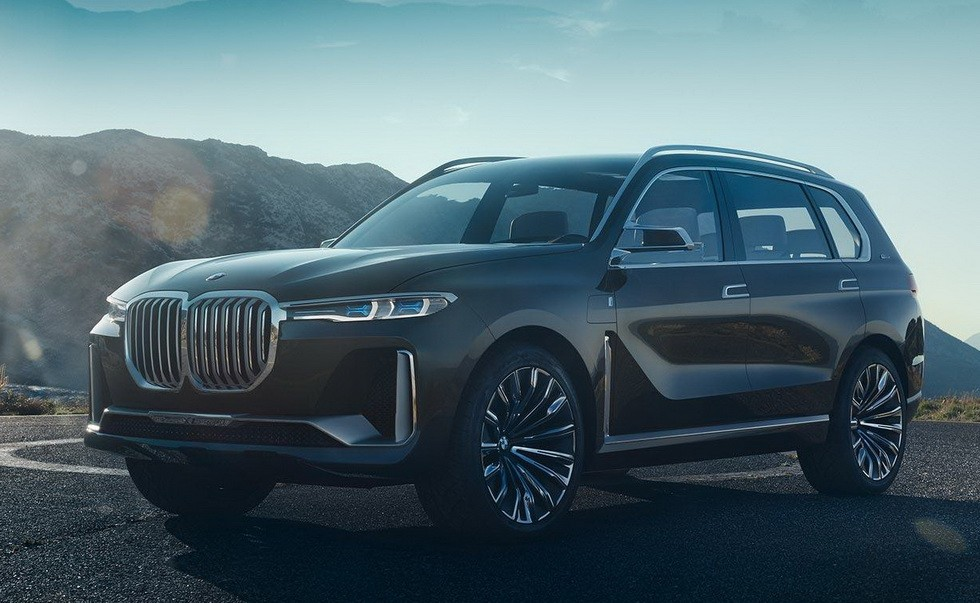 Прототип BMW X7