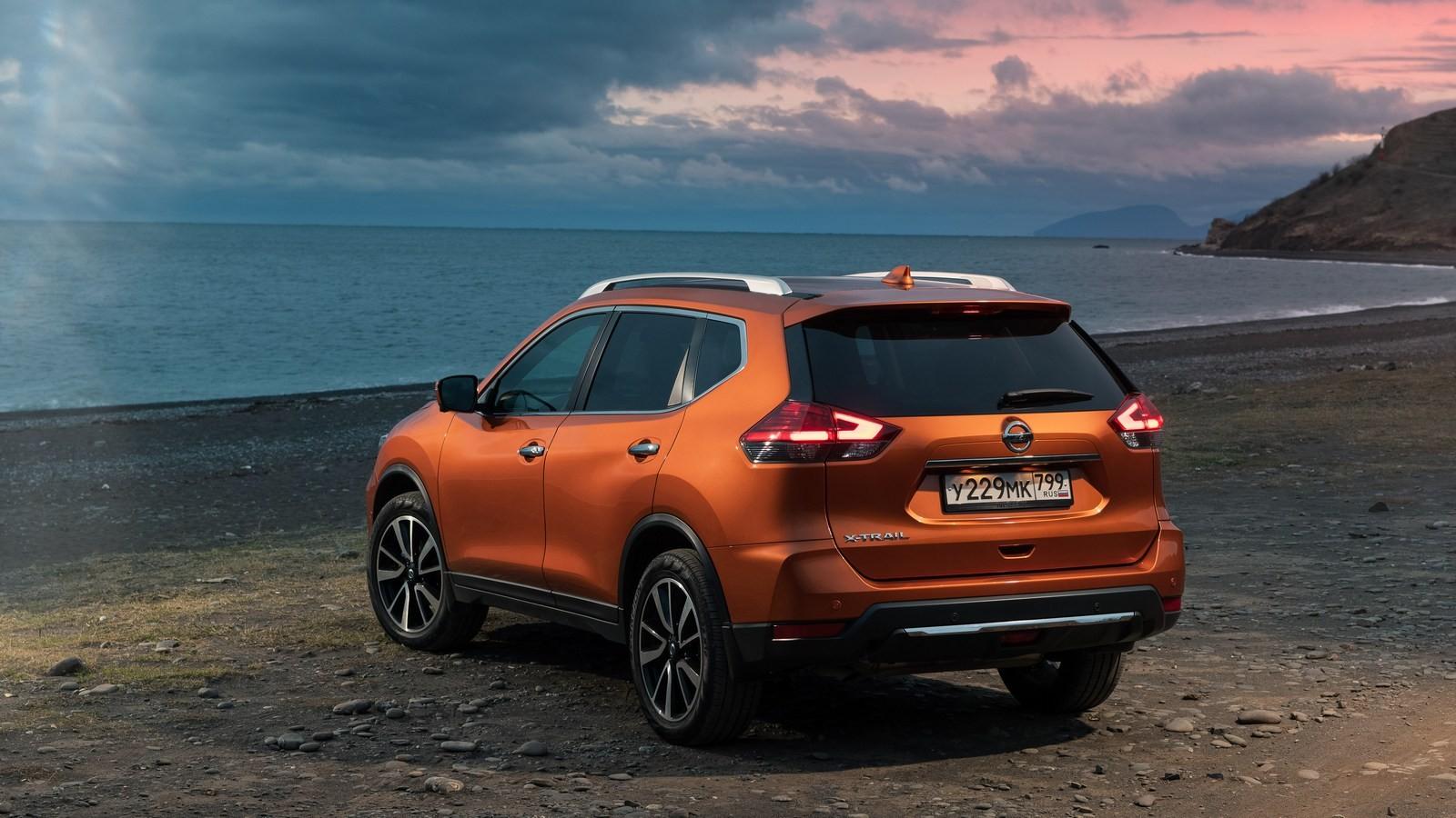 Nissan X-trail оранжевый (2)