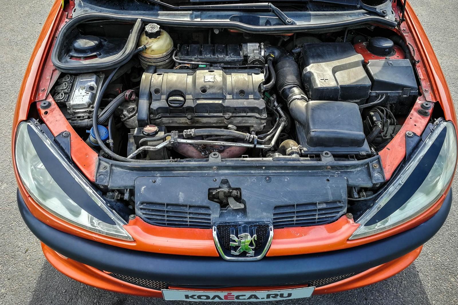 Peugeot 206 СС двигатель