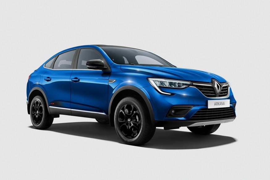 Renault Arkana обрела новую топ-версию в России: двухцветный кузов, «карбон» и кое-что ещё