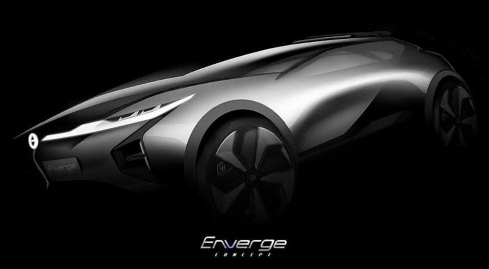 Концепт электрокроссовера GAC Enverge