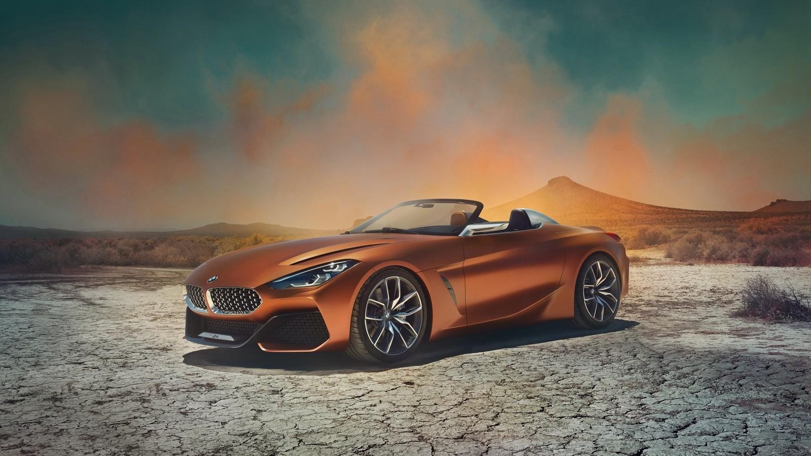 На фото: BMW Concept Z4 '2017