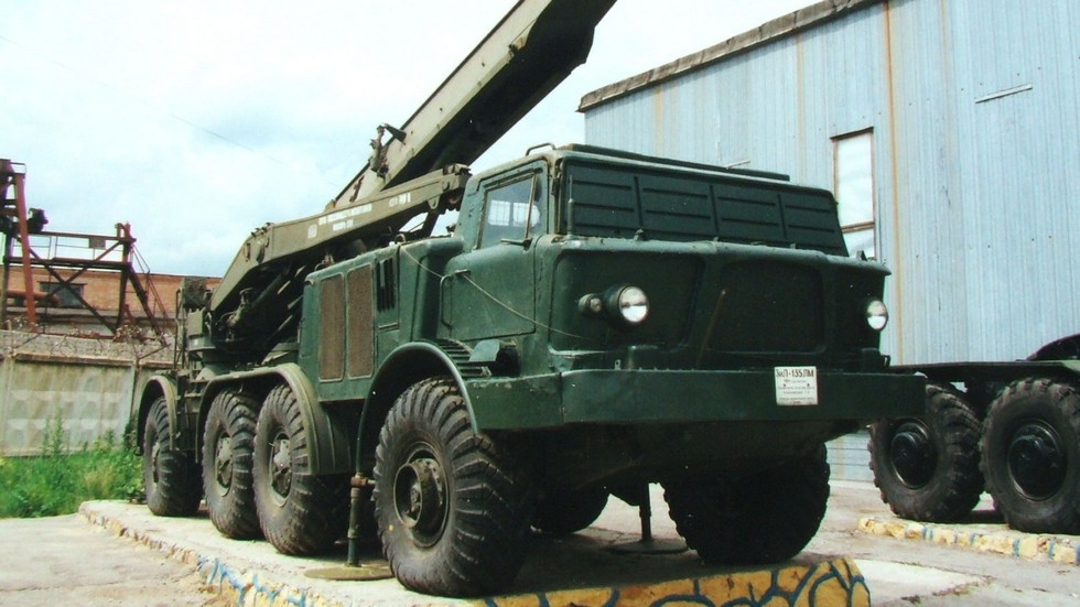 Шасси для боевой машины ракетного комплекса «Луна-М» (фото автора)