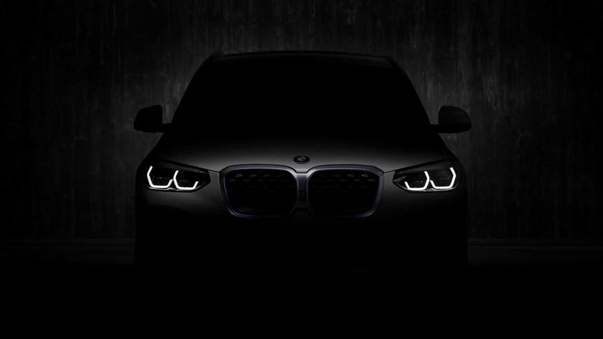 BMW опубликовала новый тизер кроссовера iX3, хотя внешность уже не секрет