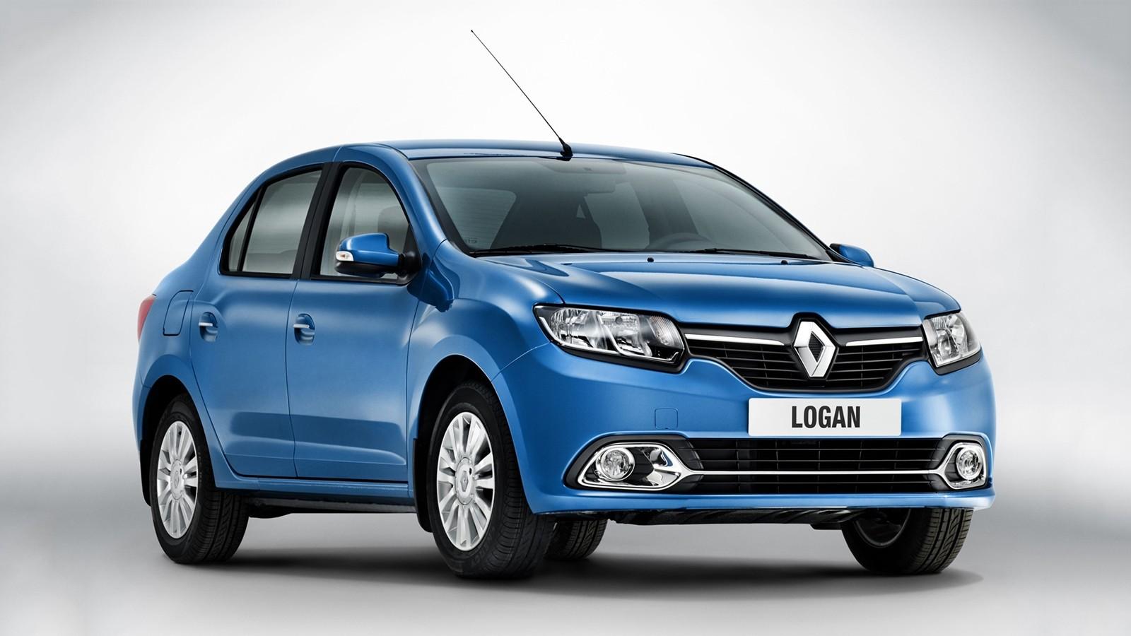 На фото: Renault Logan, продающийся в России