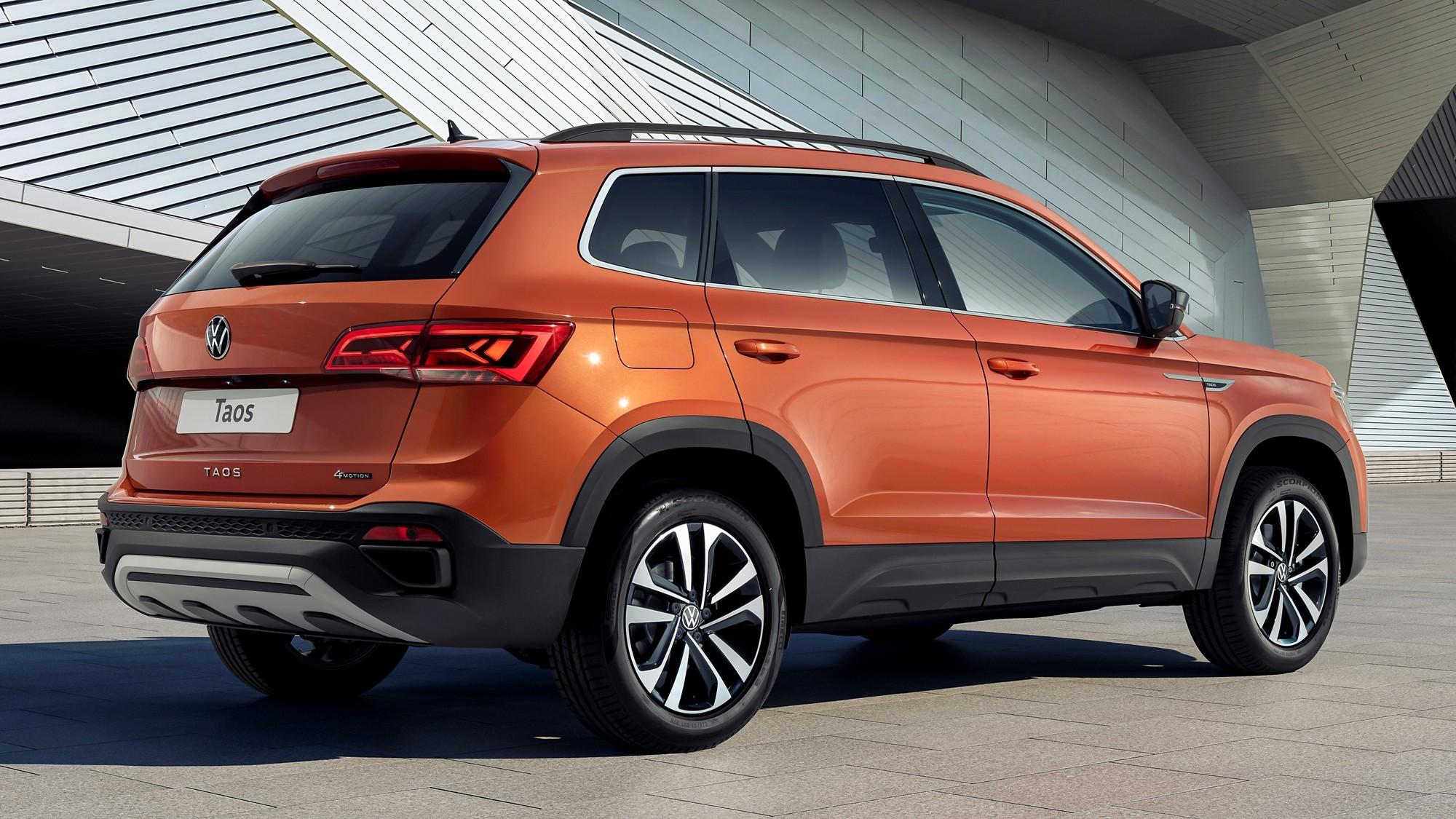 VW Taos дебютировал в России: дешевле, чем Tiguan, но чуть дороже, чем Skoda Karoq