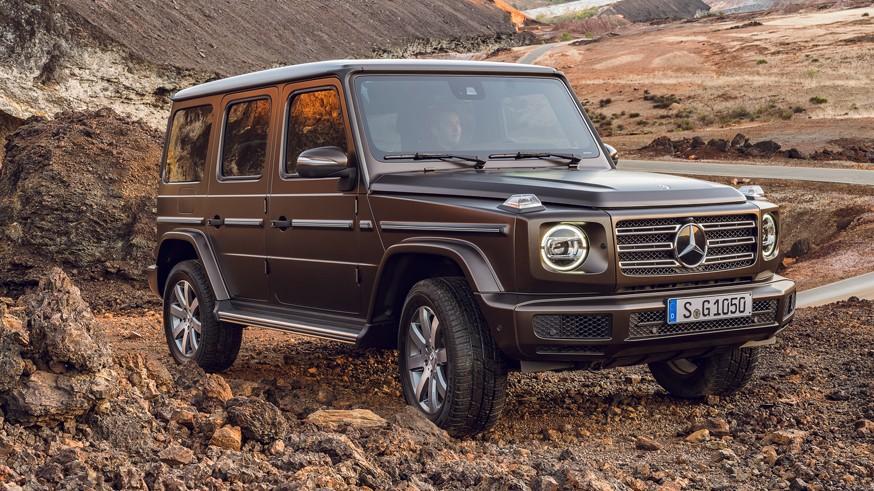Без сюрпризов: у «батарейной» версии Mercedes-Benz G-Class появилось имя