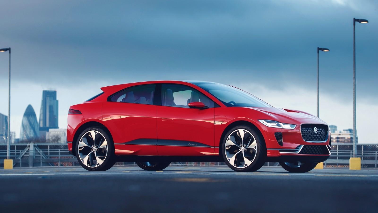 На фото: Jaguar I-Pace Concept '2016