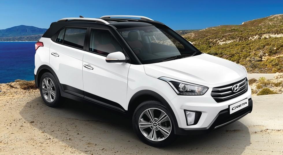 На фото: Hyundai Creta, версия для Индии. Новый кроссовер окажется дешевле