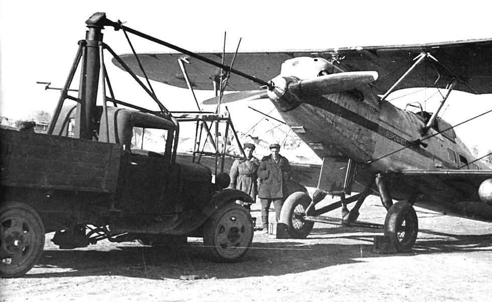 Авиационный стартер АС-1