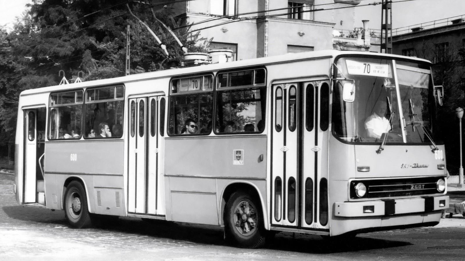 На фото: Ikarus 260 Т1 '1974