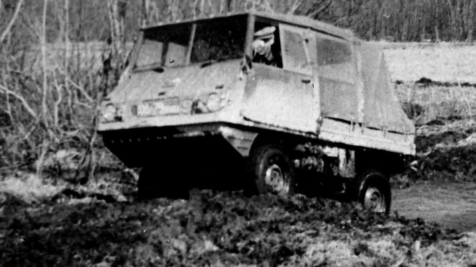 На сравнительных испытаниях австрийский вездеход Haflinger (из архива НИИЦ АТ)