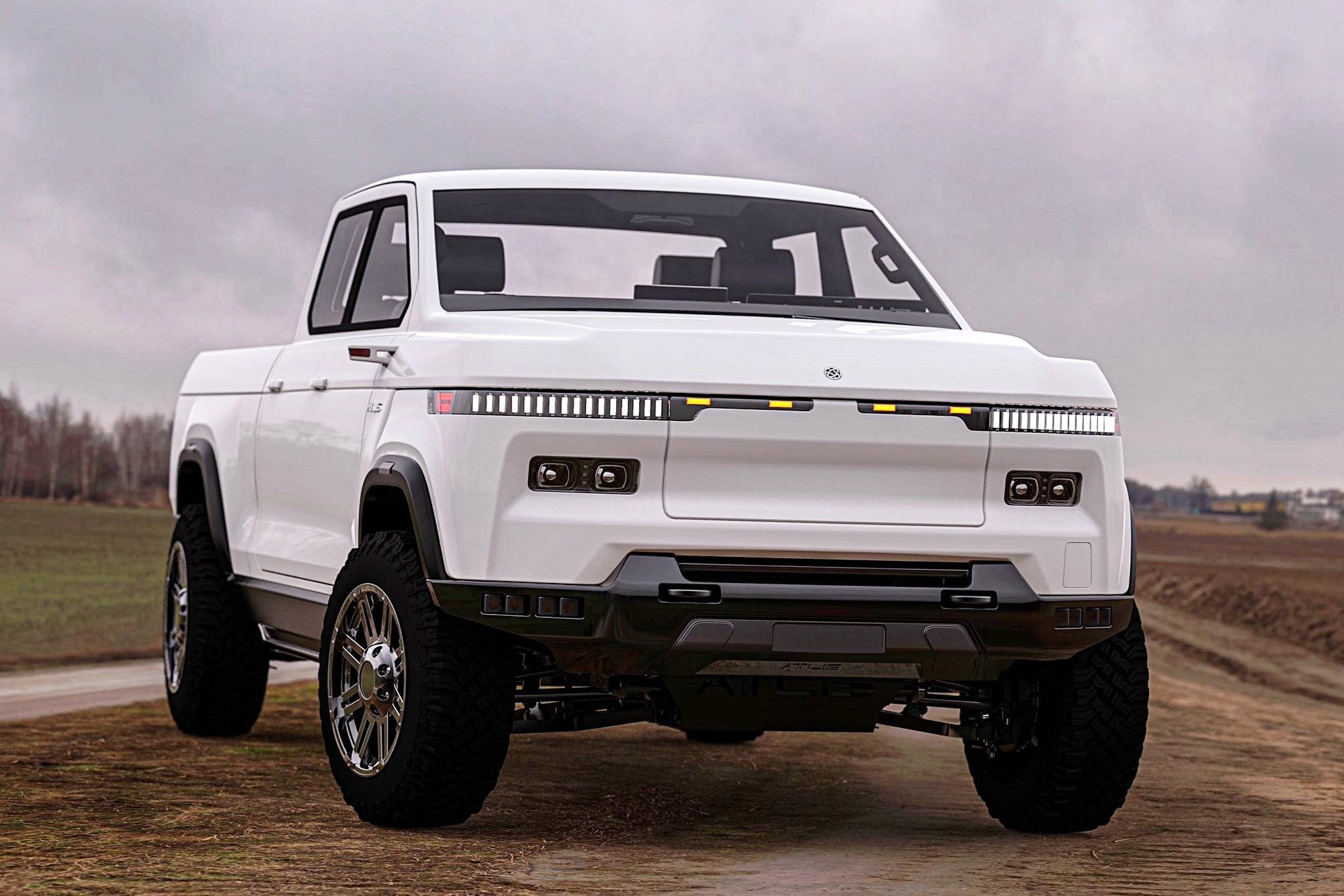 Atlis XT: руль по проводам и огромная батарея — до 250 кВт·ч