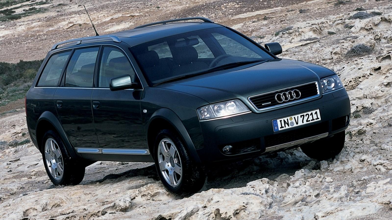 На фото: Audi Allroad 2.7T quattro '2000–06
