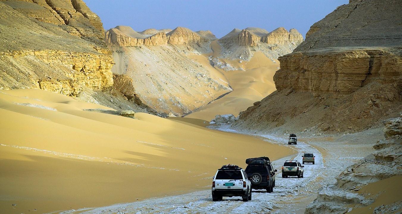 Типичная дорога в Египте