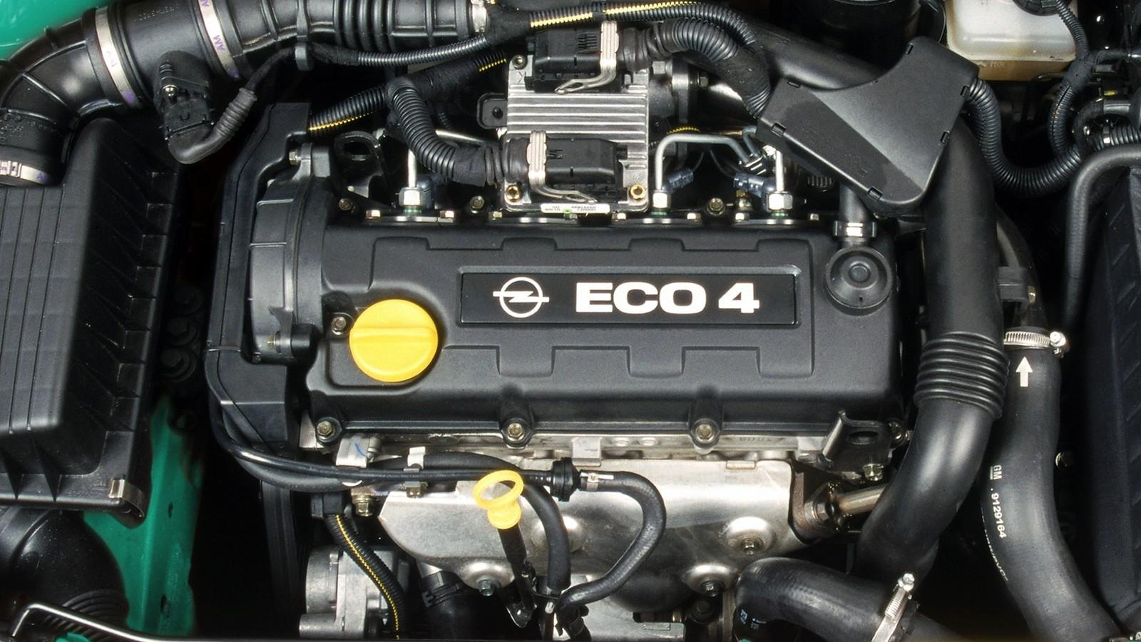 Под капотом Opel Astra Eco4 (G) '2001–04