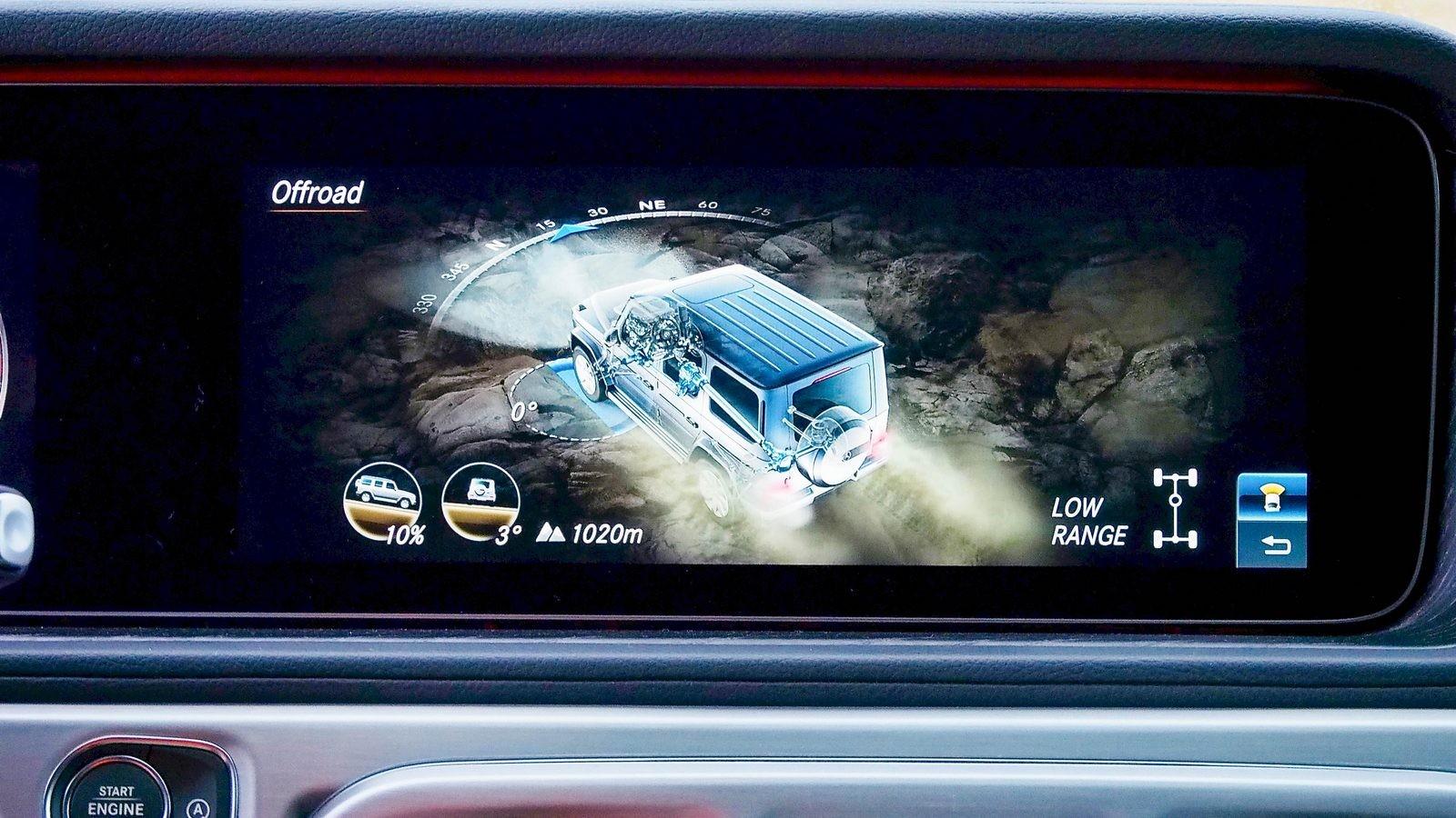 Mercedes-Benz G-Klasse оффроуд