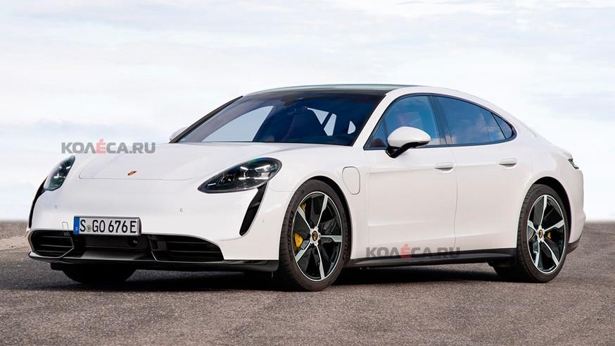 Porsche готовит Panamera третьего поколения: первое изображение