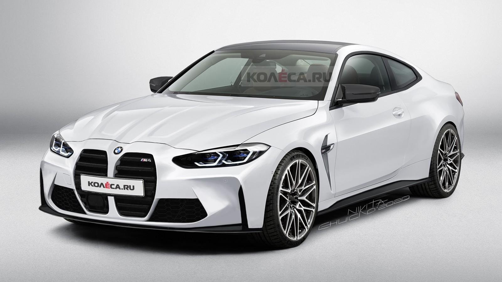 Новая BMW M4 G82: первые изображения