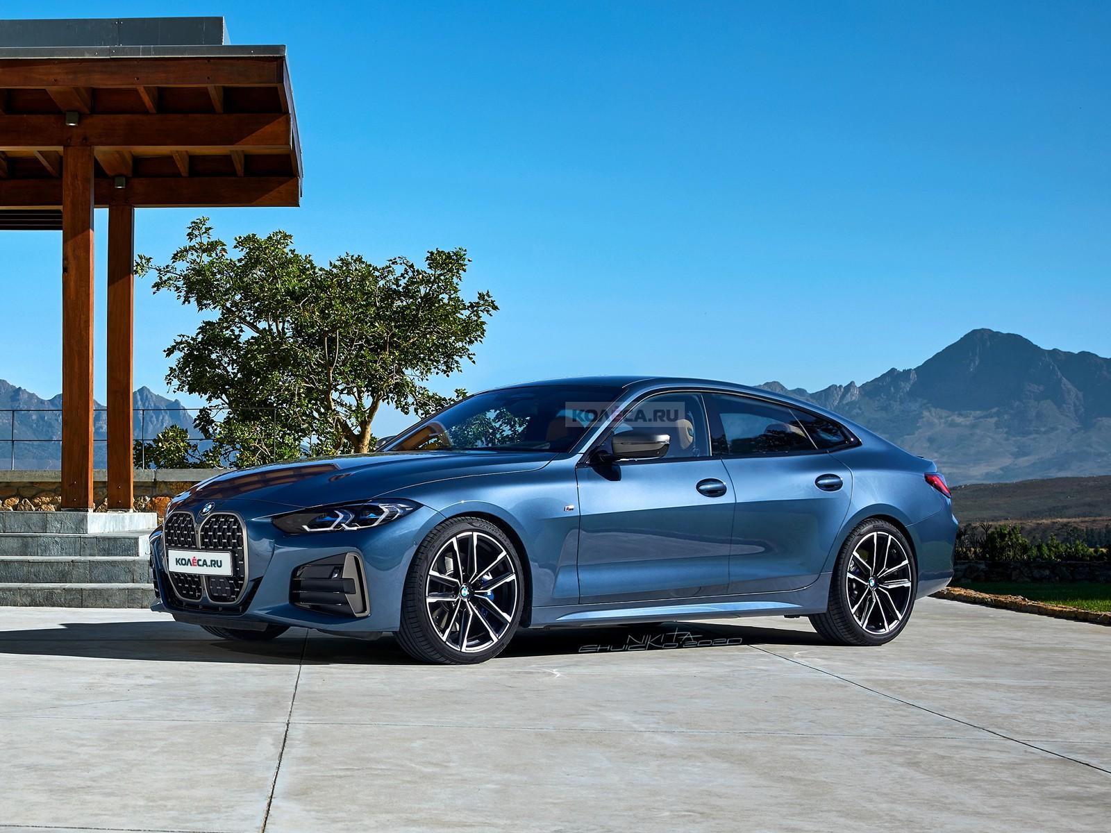 Новая BMW 4 серии Gran Coupe: первые изображения