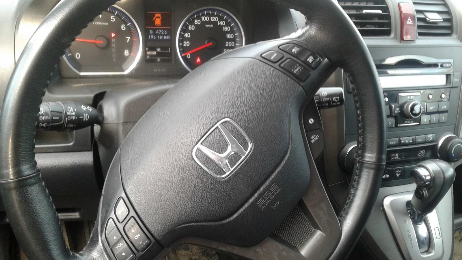 Honda CR-V руль