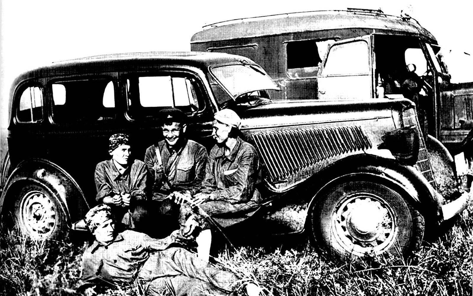 армейские легковушки СССР 13