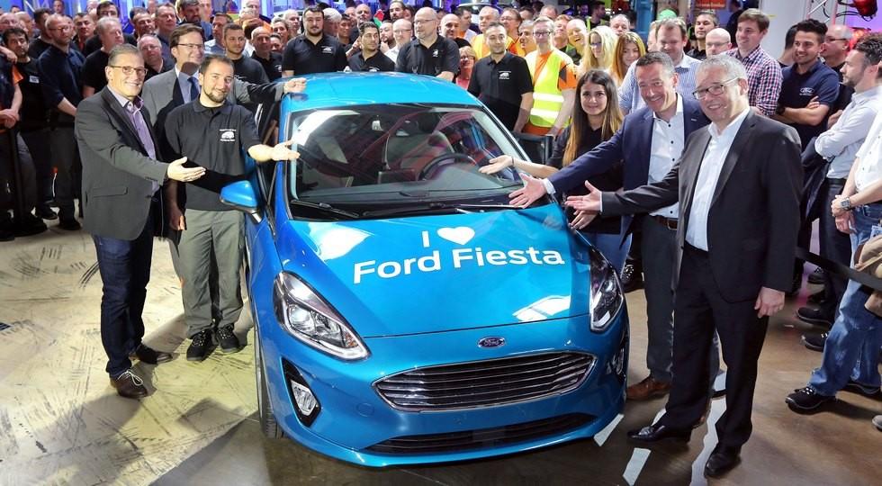 Neuer Ford Fiesta läuft in Köln vom Band